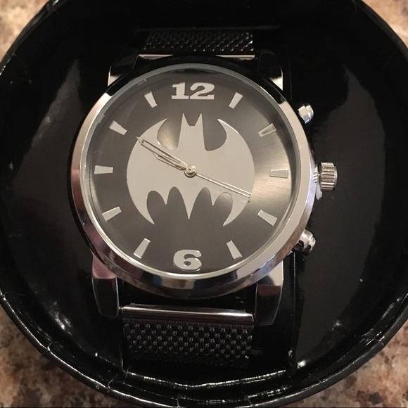 DC Comics Other - DC COMICS Men's Batman Logo Watch- Price is firm